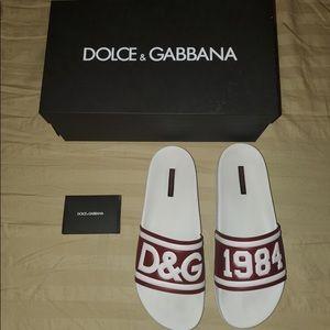 Dolce Gabbana slides size 44 (us 9)